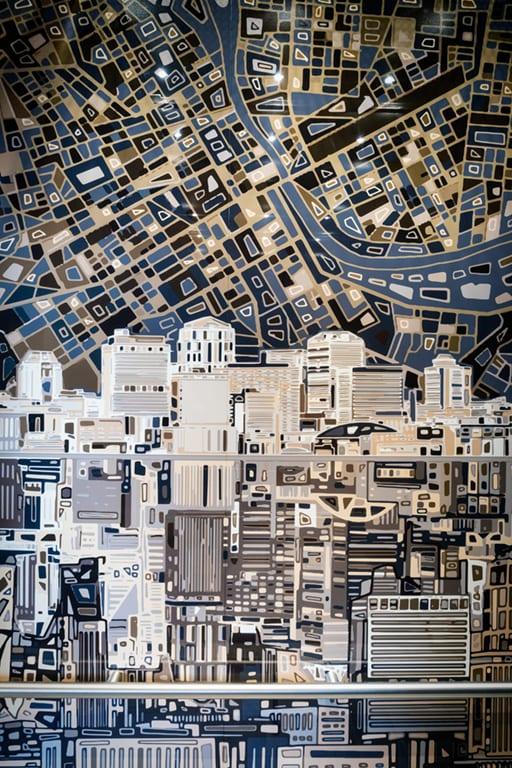 Modern Art at Aertson Midtown, Nashville, TN
