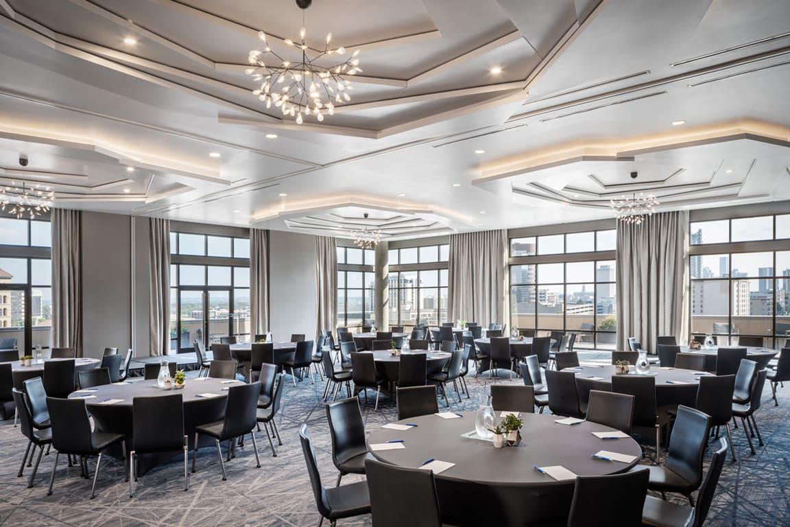 Beautiful Hotel Dine Area at Aertson Midtown, Nashville, 37203