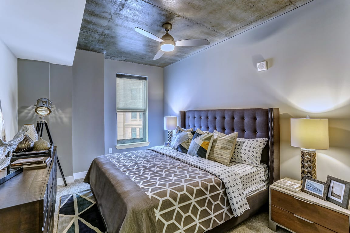 Gorgeous Bedroom Designs at Aertson Midtown, Nashville, Tennessee