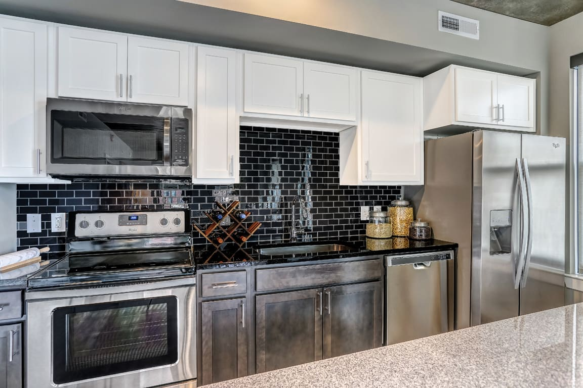 Granite Counter-tops at Aertson Midtown, Nashville, Tennessee