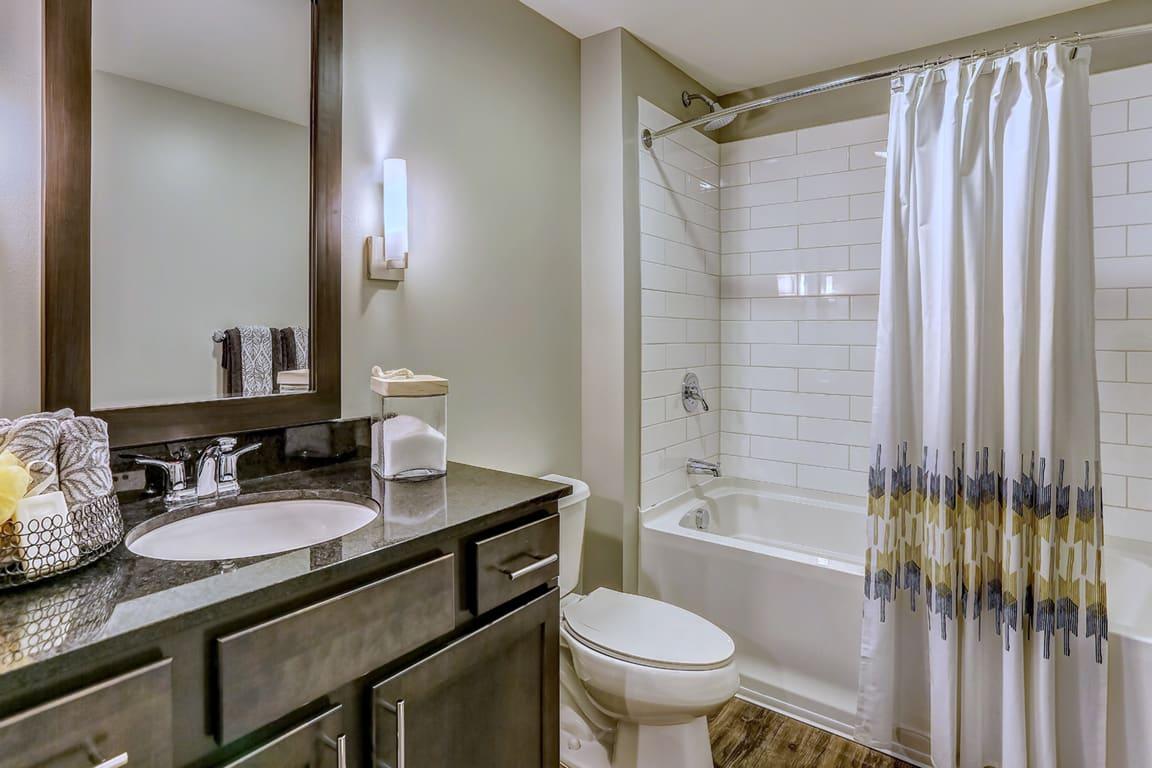 Bathroom With Bathtub at Aertson Midtown, Tennessee