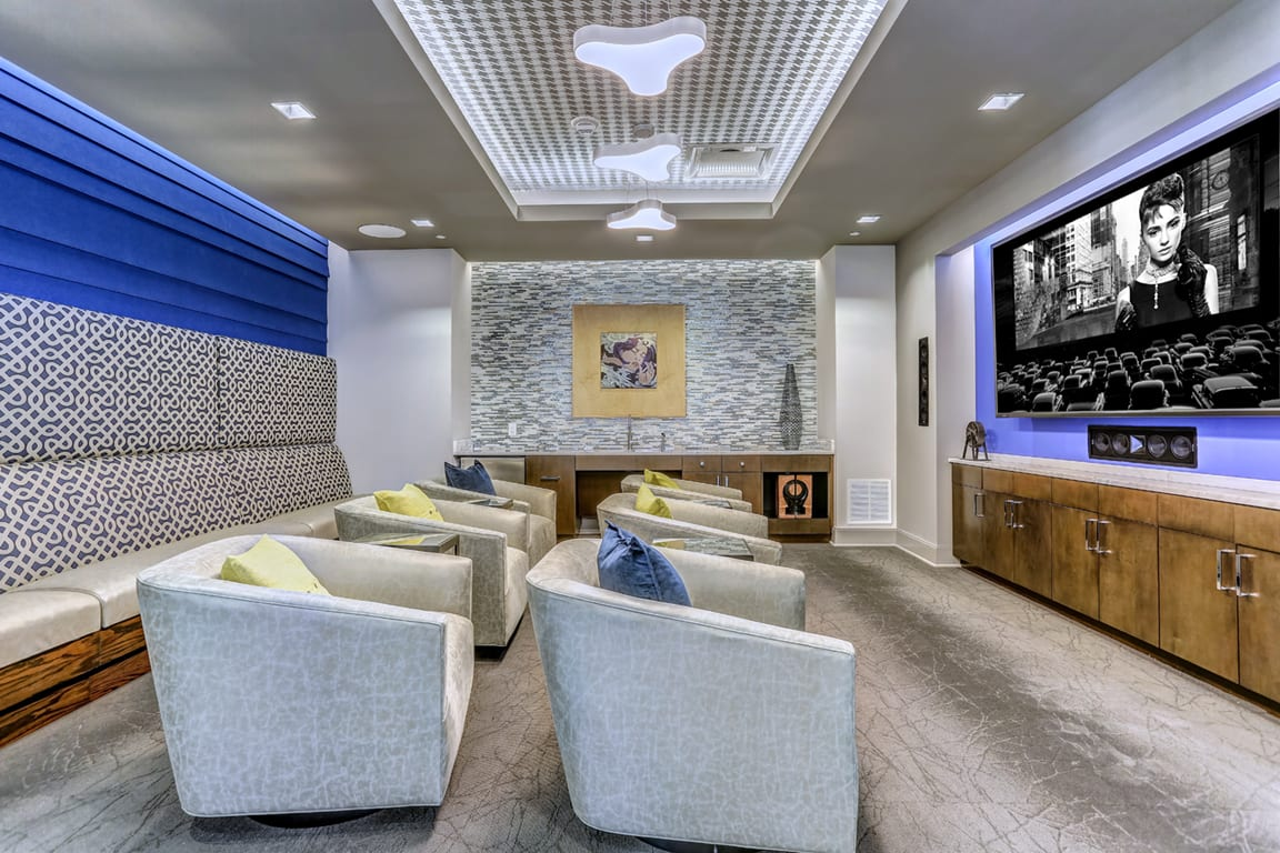 Music And Theater Room at Aertson Midtown, Nashville, 37203