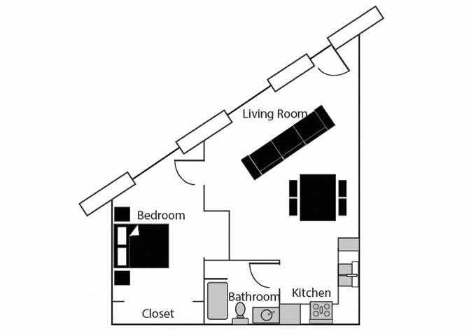 Elite 110 at CityView Apartments, Greensboro, NC, 27406