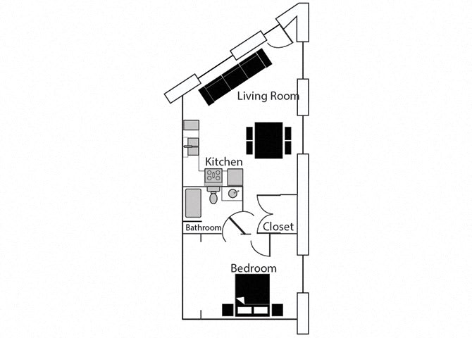 Elite 109 at CityView Apartments, Greensboro, NC