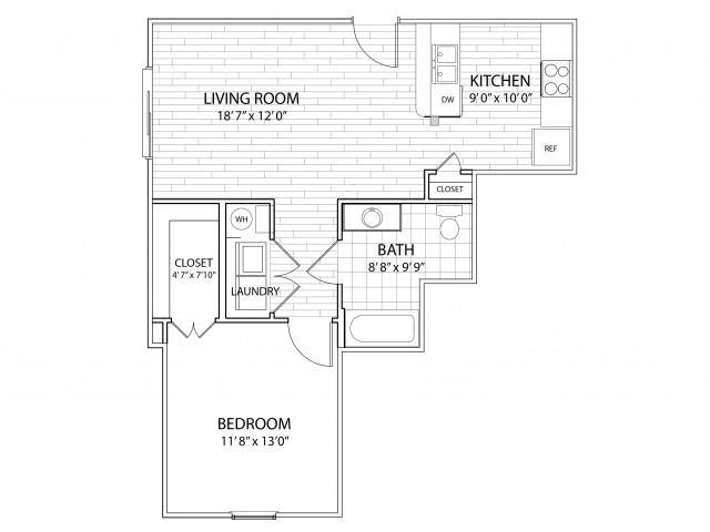 Mesa Floor Plan at Arrington Ridge, Round Rock, Texas