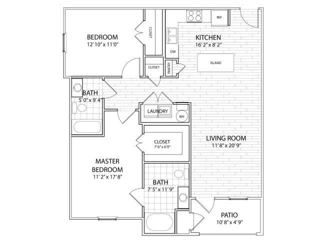 Palisade Floor Plan at Arrington Ridge, Round Rock, 78665