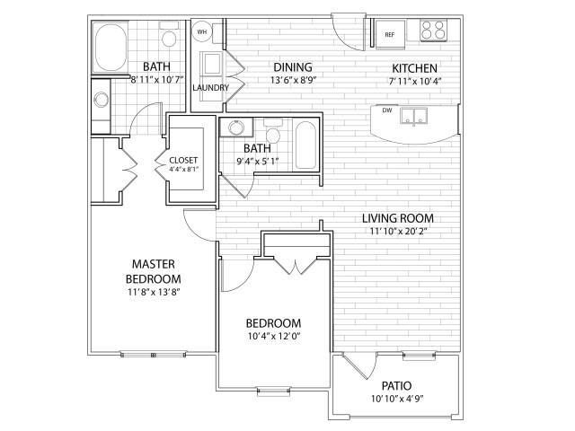 Sierra Floor Plan at Arrington Ridge, Round Rock, Texas