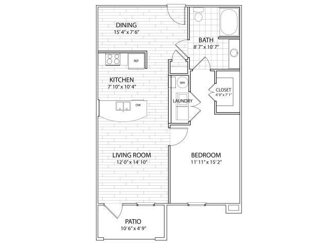 Summit Floor Plan at Arrington Ridge, Round Rock