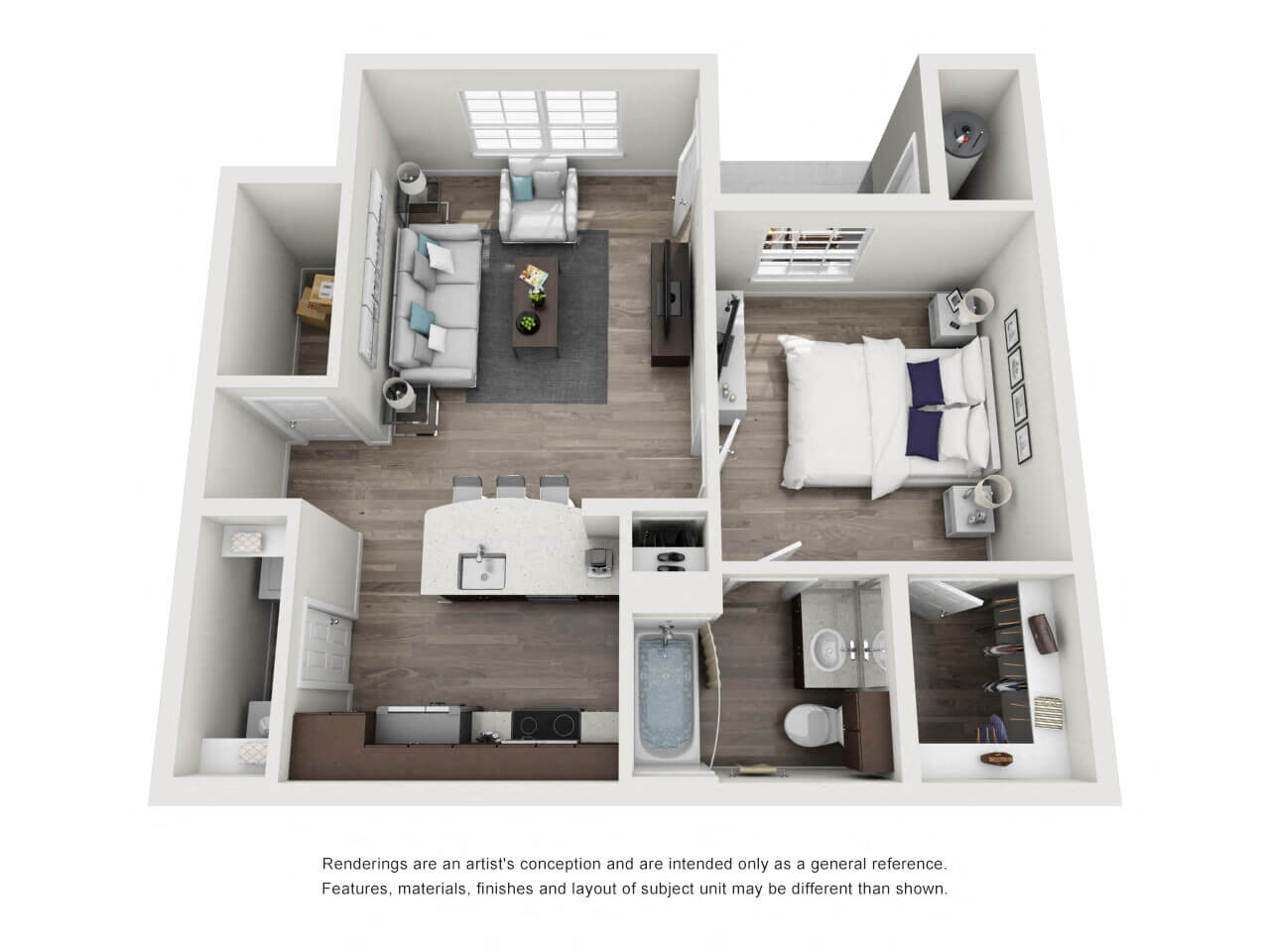 Apartments For Rent In Henderson Nv Cyan At Green Valley Floor Plans