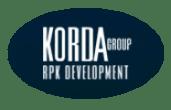 Korda Logo at Highlander Park Apts, California