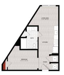 Floor Plan A1J-A
