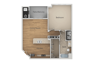A2 1Bed_1Bath at Avena Apartments, Thornton, CO, 80233