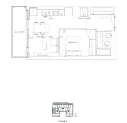 Floor Plan B1 - Greenwich VI