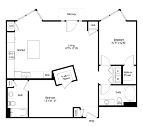 City Gate Downing floor plan