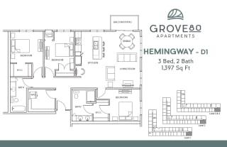 Grove80_Hemingway-D1_3BR_1397sf