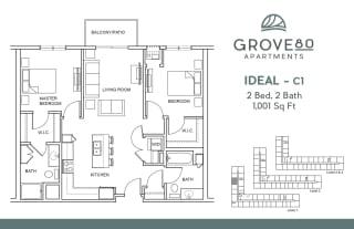 Grove80_Ideal-C1_2BR_1001sf