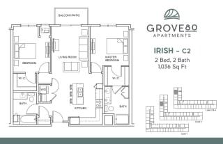 Grove80_Irish-C2_2BR_1036sf
