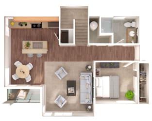 Westmore Main Floor Floorplan at Discovery Heights, Washington, 98029