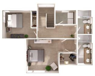 Westmore Upper Floor Floorplan at Discovery Heights, Washington, 98029