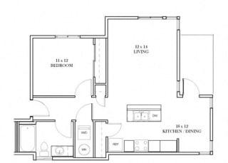 Addison Floorplan at Discovery Heights, Issaquah, WA, 98029