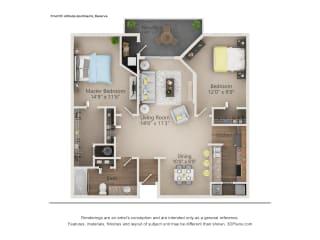 Reserve Floor Plan The Altitude Blue Ash, Blue Ash, OH