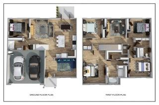 The Hayden 3D FloorPlan at Rock Ridge, Pensacola, 32526