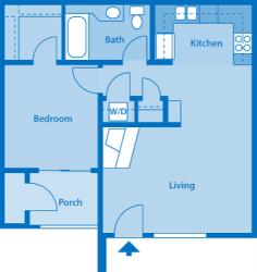 Villas at Montebella 1A Floor plan 2d image depicting floor play layout.