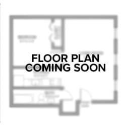 Floor Plan 2 Bedroom 318 McKee