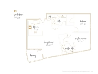 Floor Plan B9