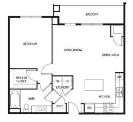 Evans Meadows Apartments in Elk River, MN 1 Bedroom 1 Bath