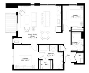 Floor Plan Slippery Elm