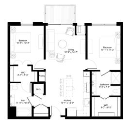 Floor Plan White Spruce