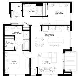 Floor Plan Willow