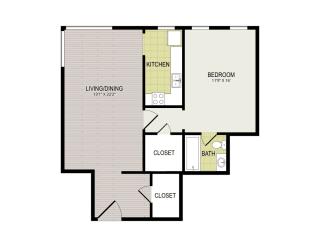 Broadview Apartments 1F Floor Plan