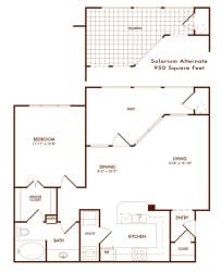 Hudson Miramont A2A Floor Plan