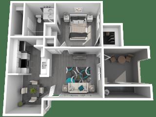 Lazo Apartments Anderson Floor Plan