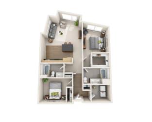 Floor Plan B2D