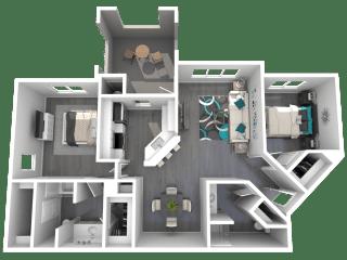 Lazo Apartments Friedberg Floor Plan
