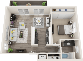 Hillside Gardens Apartments Castle Peak Floor Plan