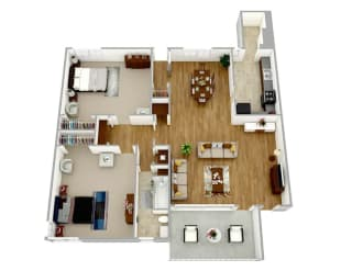 Broadview Apartments WC21 Floor Plan