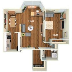 Floor Plan Bradford