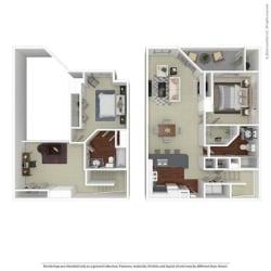 Floor Plan B4 Monterey