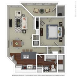 Floor Plan A1 Sugarwood