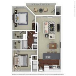 Floor Plan B1 Sycamore