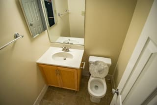 Oakton Park Two Bedroom 2A First Bathroom 01