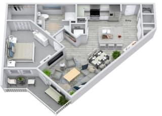 A2 Floor Plan at Estero Parc, Estero