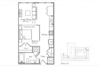 Floor Plan S1B
