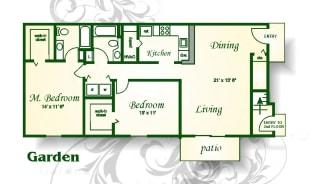 Floor Plan The Boone Garden