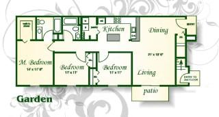 Floor Plan The Magnolia Garden