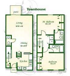 Floor Plan The Cypress Townhouse